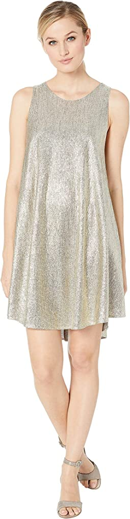 Jewel Sleeveless Sparkle Dress
