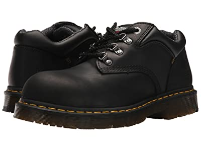Dr. Martens Work Hylow Steel Toe (Black) Lace up casual Shoes