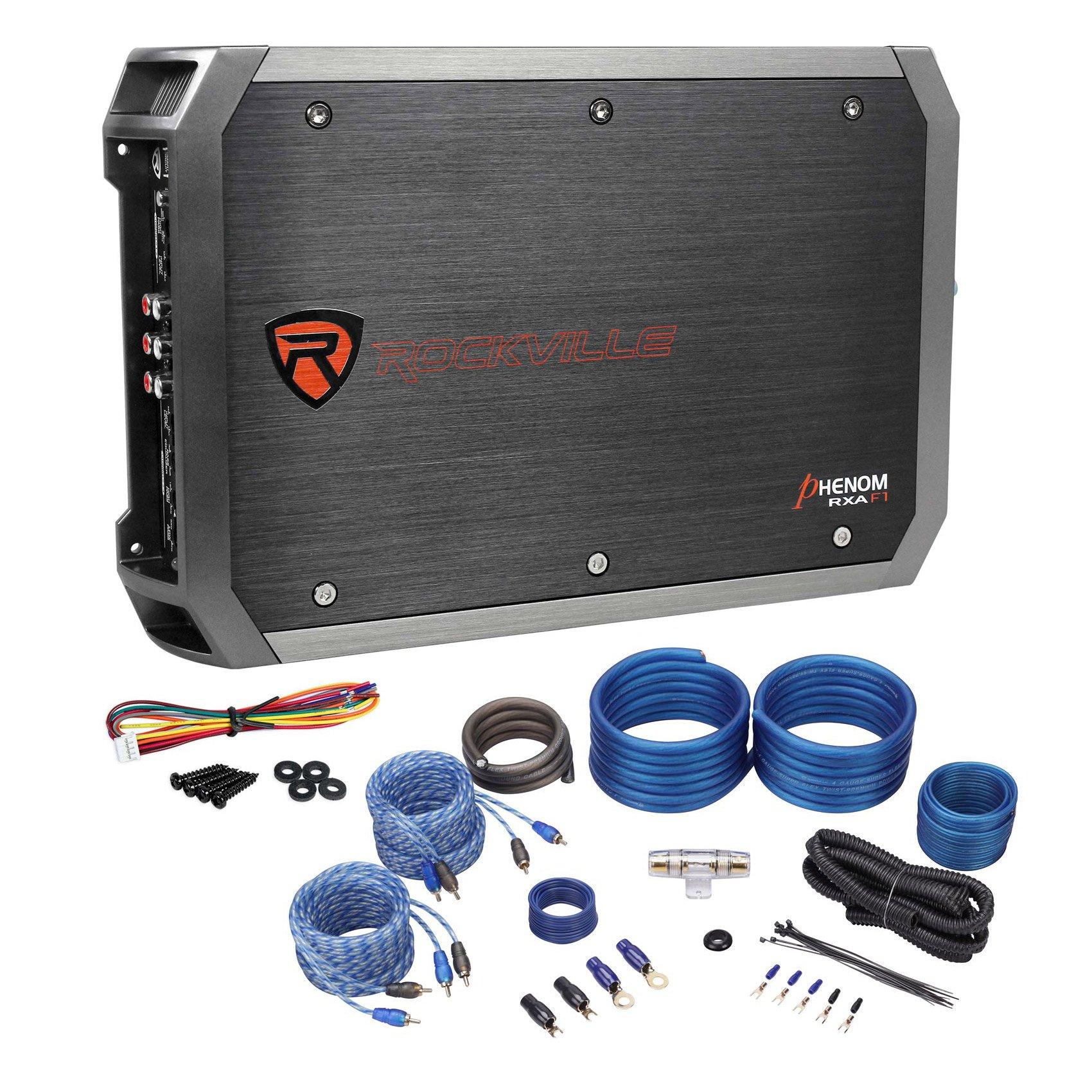 Rockville RXA F1 Channel Stereo Amplifier