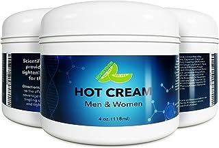Natural Skin Moisturizer Cellulite Treatment - Anti Aging Skin Care For Women + Men - Body Massage Hot Cream For Butt Thig...