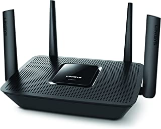 Linksys Tri-Band WiFi Router for Home (Max-Stream AC2200 MU-MIMO Fast Wireless Router), black