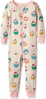 Gymboree Baby Girls 1-Piece Tight Fit Long Sleeve Pajama