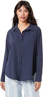 LACAUSA Women's Nash Button Up Shirt