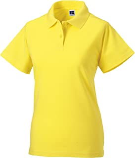 Russell Europe Womens/Ladies Classic Cotton Short Sleeve Polo Shirt