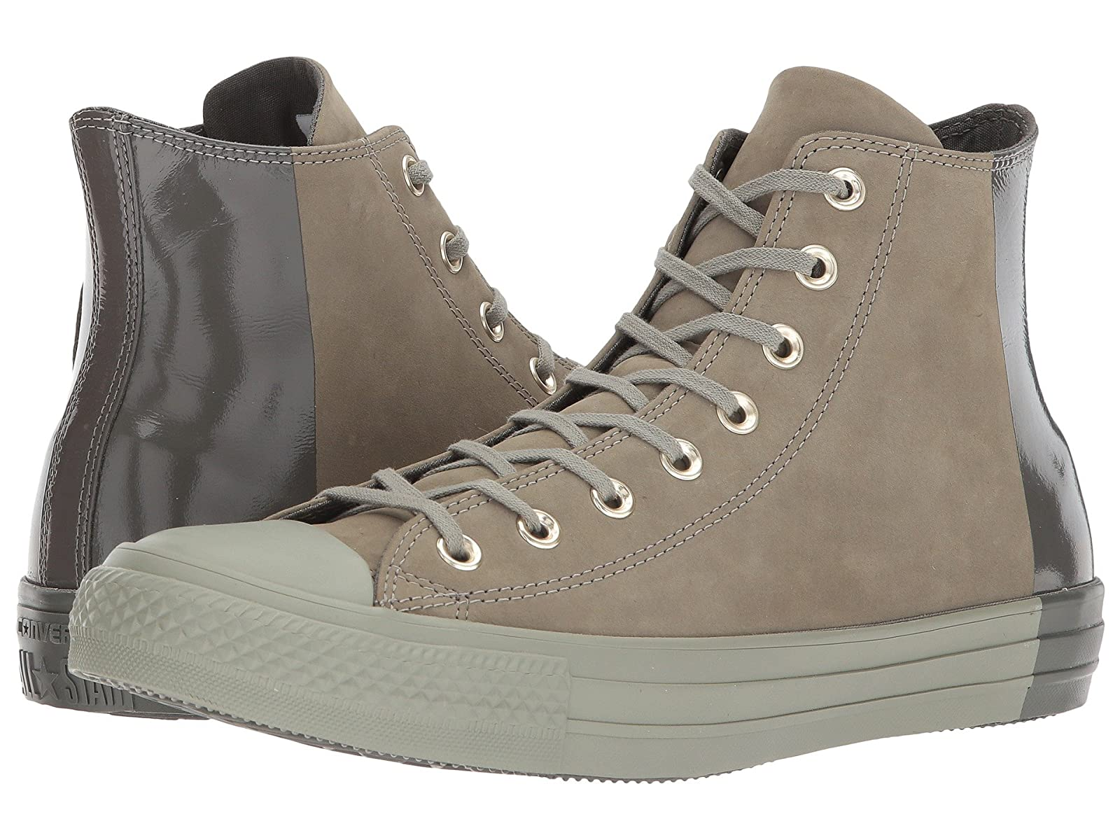 Converse Chuck Taylor® All Star Color Block Nubuck HiCheap and distinctive eye-catching shoes
