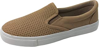 browns slip on shoes