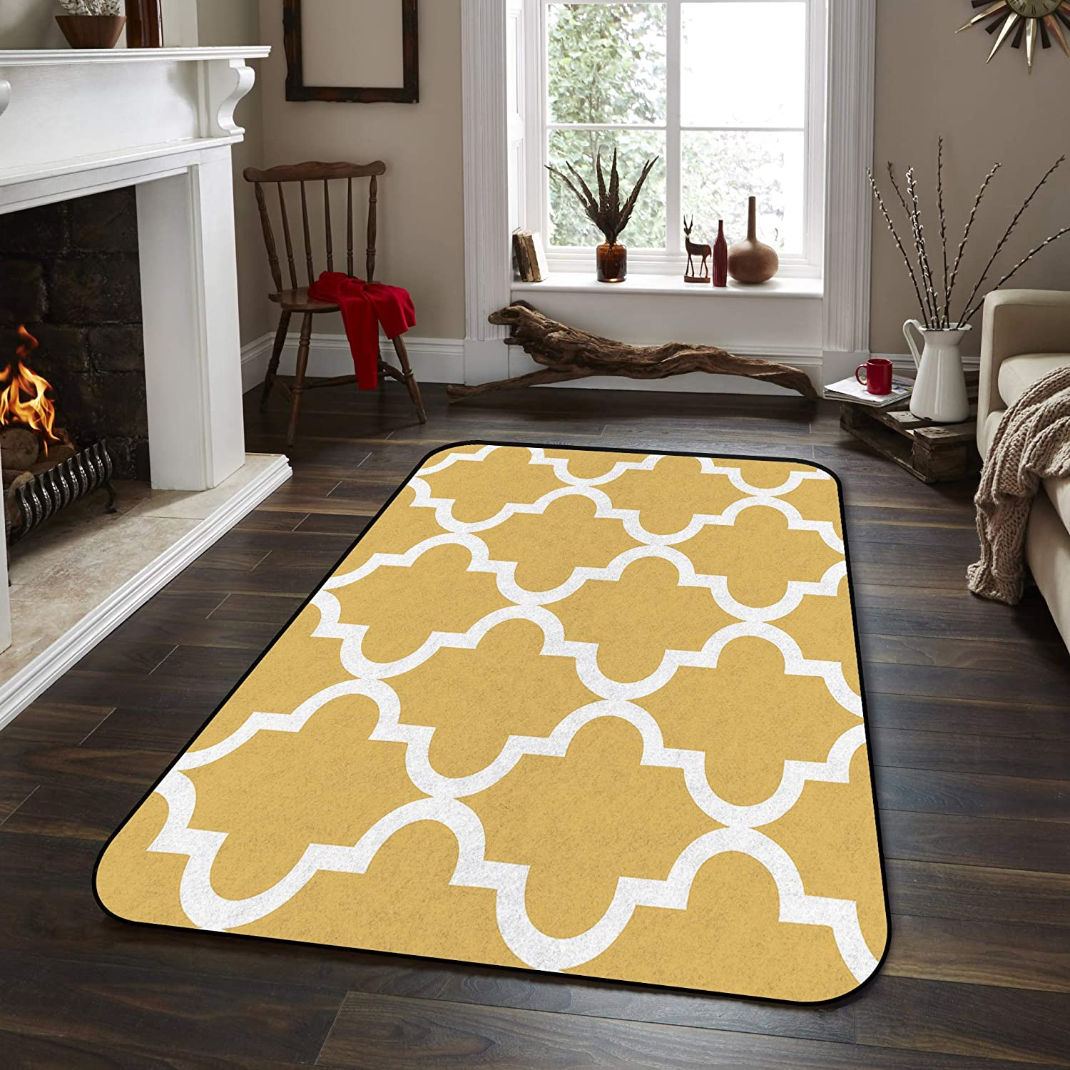 Soft New Discount is also underway sales Area Rugs for Bedroom Morocco Flo Rug Decor Carpet Washable