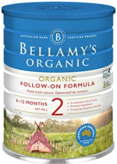 Bellamy's Organic stage 2 Follow-On Formula, 900g