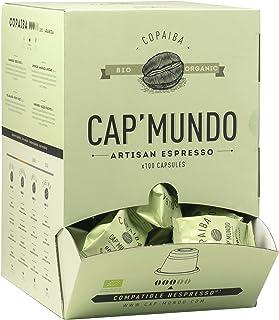 Cap Mundo Copaiba - Pack 100 Cápsulas de Café Orgánico - Cápsula Compatible con Nespresso - Café Grand Cru