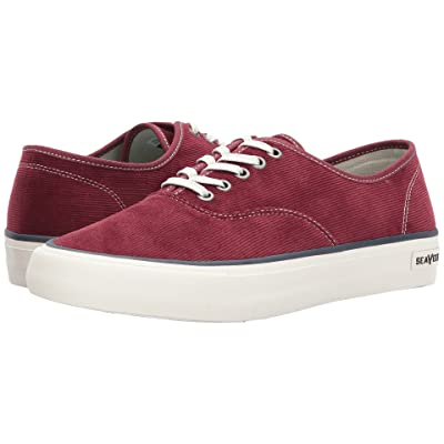 SeaVees Legend Sneaker Cordies Varsity (Wine) Men