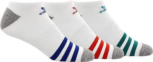 adidas Men's Originals No Show Socks (3 Pack)