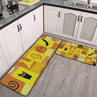 Amazon Com Halloween Kitchen Rugs Kitchen Table Linens Home Kitchen