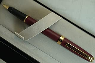 Sheaffer Made in The USA Limited Edition Signature Prelude Matte Burgundy Finish Cap and Barrel with 22KT Gold Appointment...