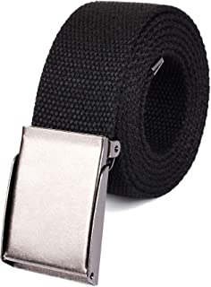 Canvas Web Belt | Cut to Fit Up to 52"