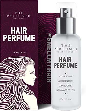 The Perfumer Hair Perfume Spray For Women, Fresh & Fruity, No Alcohol, Mist, Chemical Free, No Frizzy Hair After Spray, Party Essential, 30 ml