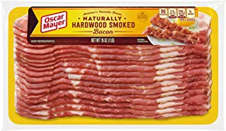 Oscar Mayer Naturally Hardwood Smoked Bacon (16 oz Package)