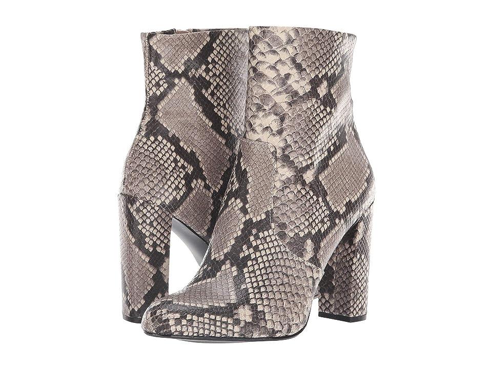 Steve Madden Editor Dress Bootie (Natural Snake) Women