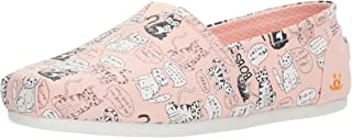 Skechers Womens Bobs Plush - Cat Attack Bobs Plush - Cat Attack Pink Size: