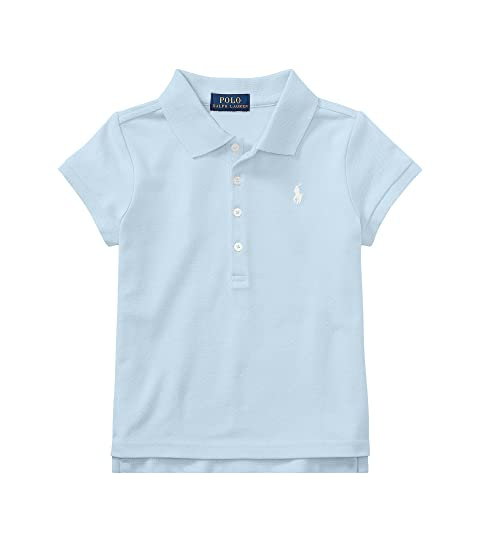 70f475fe163fb5 Polo Ralph Lauren Kids Short Sleeve Mesh Polo Shirt (Little Kids) at ...