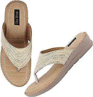 Do Bhai Stylish Ortho Care Orthopaedic Comfort Sole Slipper for Women