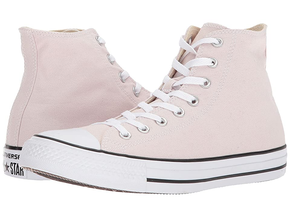 Converse Chuck Taylor(r) All Star(r) Seasonal Color Hi (Barely Rose) Lace up casual Shoes