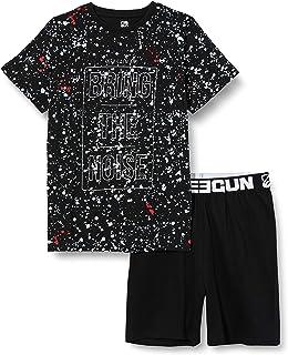 Sanetta T-Shirt Allover Top de Pijama para Ni/ños