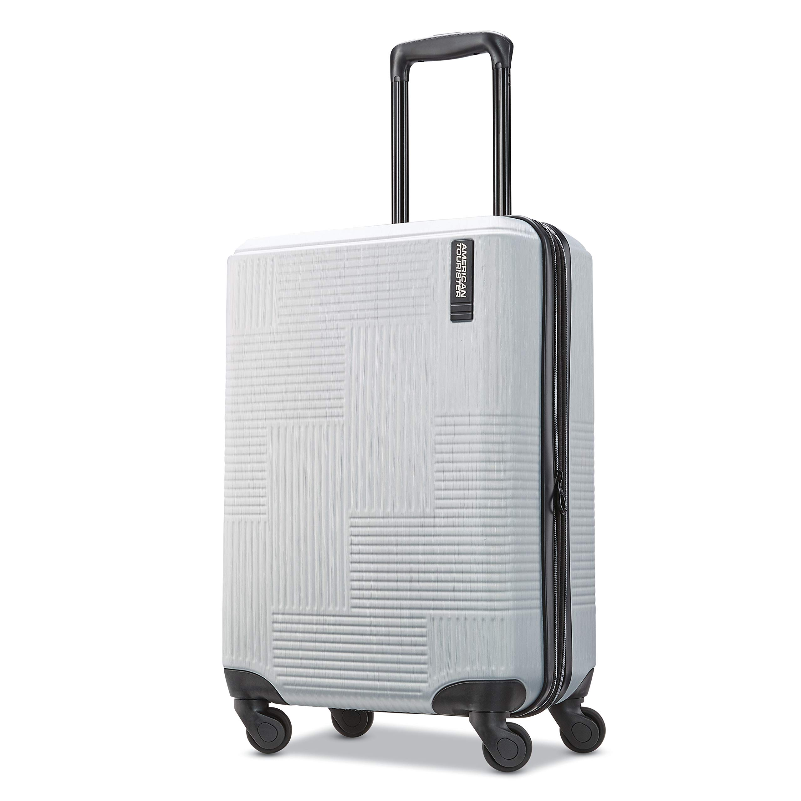 American Tourister Carry On Bright Silver