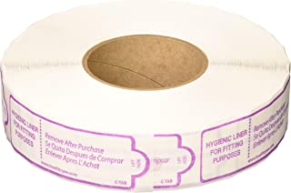 Girl's Tab Cut Hygienic Liner for Trying on Swimsuit - Hygienic Liner for Girl's Swimwear - 1 roll of 1, 000, C-TAB True F...