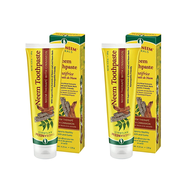 Sale Theraneem Naturals Neem Toothpaste Gu Teeth Supports Mesa Mall Healthy