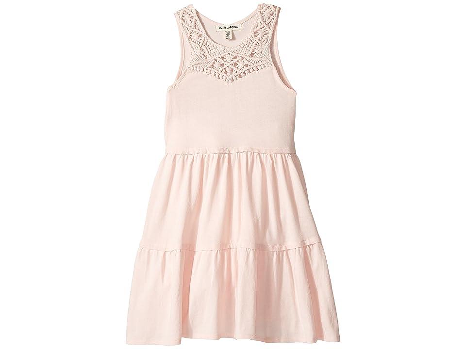 Billabong Kids Salty Side Dress (Little Kids/Big Kids) (Shell Pink) Girl