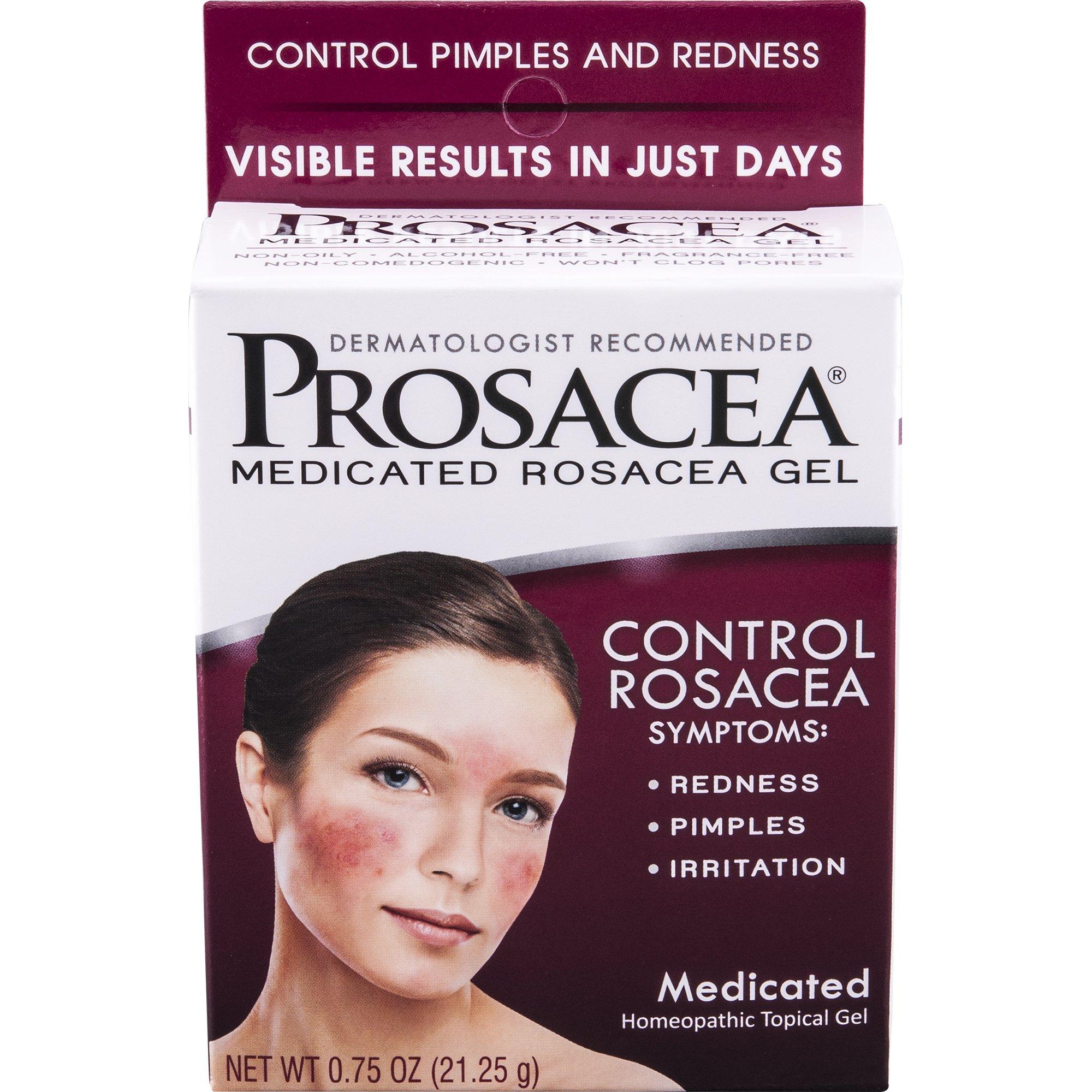 Prosacea Medicated Rosacea Gel 0 75 Tube Multi Symptom Rosacea Calms