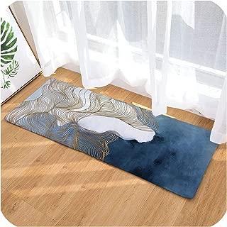 Geometric Printed Kitchen Carpet Floor Mats Durable Home Outdoor Decorative Front Door Mat Carpet Entrance Doormat,DC2037-2,50cmx80cm