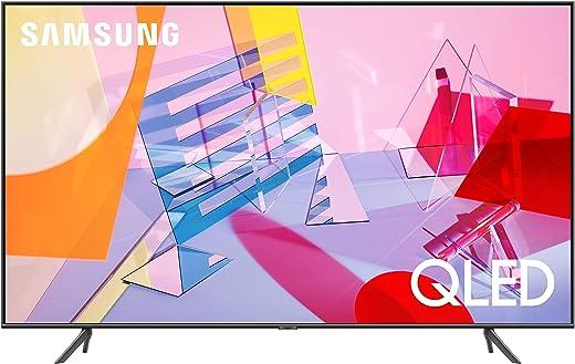 SAMSUNG 55-inch Class QLED Q60T Series - 4K UHD Dual LED Quantum HDR Smart TV with Alexa Built-in (QN55Q60TAFXZA, 2020 Model) (Renewed)