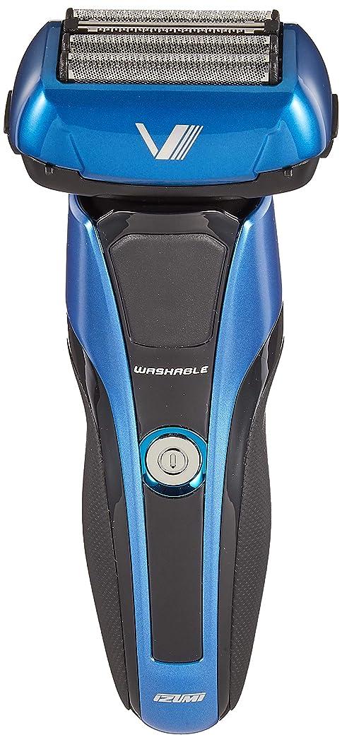 ヒールよろめく霊IZUMI Z-DRIVE ハイエンドシリーズ 往復式シェーバー 4枚刃 ブルー IZF-V978-A-EA