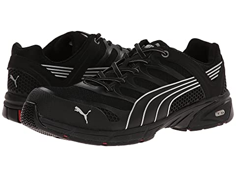 Puma Safety Fuse Motion SD Mens Black/Lime C624664MO Shoes
