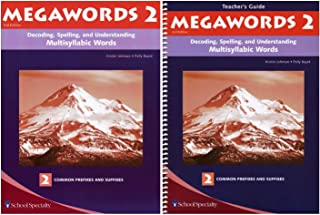 Megawords 2 SET - Student and Teacher's Guide (Decoding, Spelling, and Understanding Multisyllabic Words: Syllable Types and Syllabication Rules)