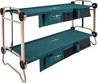 Disc-O-Bed Large with Organizers and Leg Extensions