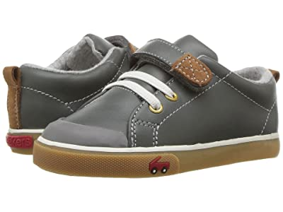 See Kai Run Kids Stevie II (Toddler) (Gray Leather) Boy