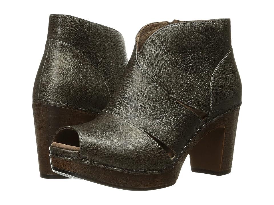 Dansko Delphina (Aged Bronze Metallic) High Heels
