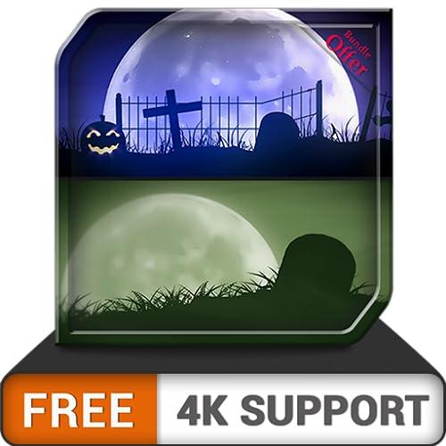 free gruseliger Friedhof HD - dekorieren Sie Ihre Halloween-Party mit einem gruseligen Horror-Thema auf Ihrem HDR 4K-Fernseher, 8K-Fernseher und Feuergeräten als Hintergrundbild und Thema für Dekorati