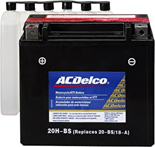 ACDelco ATX20HBS Specialty AGM Powersports JIS 20H-BS Battery