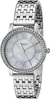 Timex Women's TW2P805009J City Collection Silver-Tone Watch