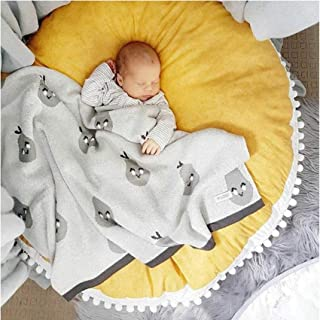 Baby Fitness Playmat,Children's Play Mat Toy Round Thick Non-Slip Blanket Baby Crawling Mat Home Living Room Children's Ro...