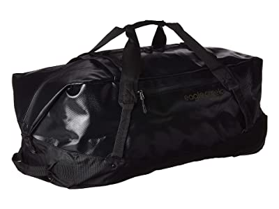 Eagle Creek Migrate Wheeled Duffel 110L (Jet Black) Duffel Bags