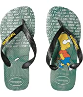 Havaianas Kids Top Simpsons Flip Flops (Toddler/Little Kid/Big Kid)