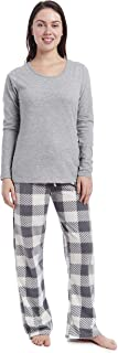 CHEROKEE Women's Soft Pajama Shirt and Pants Set