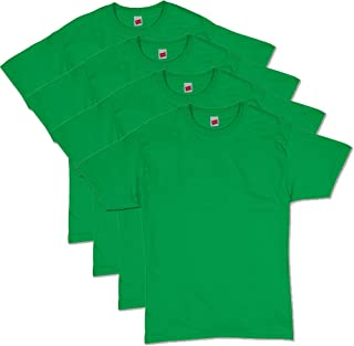 Hanes Men's ComfortSoft Short Sleeve T-Shirt (4 Pack)