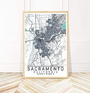Best sacramento map art Reviews