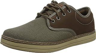 Skechers Heston-Santano, Zapatos de Cordones Brogue Hombre, 41 EU