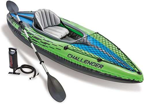 discount Intex Challenger Kayak Inflatable sale Set with Aluminum discount Oars online sale